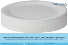 Paper Plates Manufacturing Plant Project Report, Industry Trends, Business Plan, Machinery Requirements, Raw Materials, Cost and Revenue 2021-2026 – The Manomet Current