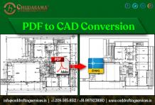 PDF to CAD Conversion | Scan PDF to CAD Drawing Services - COPL