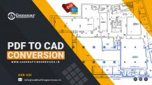 PDF to CAD Conversion | Sketch, Paper to CAD Conversion Services