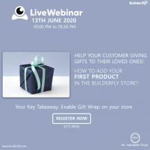 Personalize your store with Builderfly's amazing features