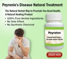 Natural Remedies for Peyronie's Disease and Vitamin E Herbal Supplement