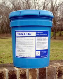 Aluminum sulfate for ponds, Clarify dirty pond water | Phosclear