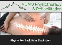 Physio For Back Pain Blacktown