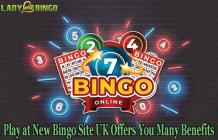 Play at New Bingo Site UK Offers You Many Benefits - Lady Love Bingo