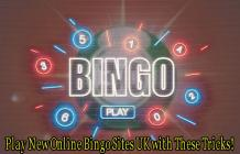 Play New Online Bingo Sites UK with These Tricks! - Lady Love Bingo