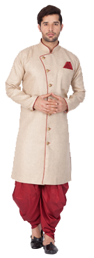 Buy On Sale Indian Mens Kurta Pajama Online in USA. Free Shipping. Free Stitching.