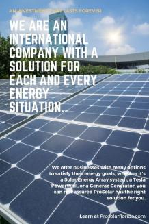 Pro Solar - An Investment That Lasts Forever