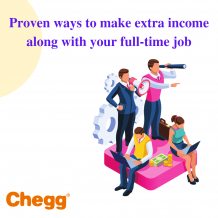 Proven ways to make extra income along with your full-time job
