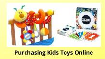 Factors to Consider for Purchasing Kids Toys Online