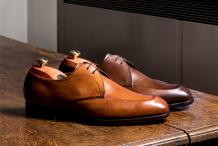 Purley - Men's Handmade Leather Derby Shoes By Barker