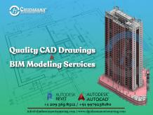 CAD Drawings and 3D BIM Modeling Services – Chudasama Outsourcing