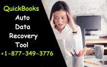 Recover your data with QuickBooks Auto Data Recovery +1-877-349-3776