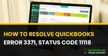 How to Fix QuickBooks Error 3371 Status Code 11118? | 1-888-412-7852