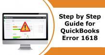 QuickBooks Error 1618 solution Step by Step