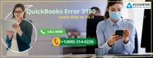 QuickBooks Error 3180   Learn How to Fix it - dataerrorsolutions