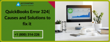 QuickBooks Error 324   Causes and Solutions to fix it [Solved]
