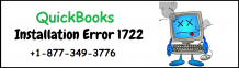 How To Fix the QuickBooks Installation Error 1722? +1-877-349-3776
