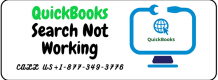 QuickBooks Search Not Working +1-877-349-3776 | Howfixerrors