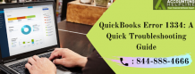 How to rectify the QuickBooks error 1334 when launching QuickBooks