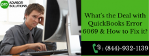 How to fix QuickBooks Error 6069 with ease
