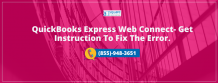 Tips to Resolve QuickBooks Express Web Connect Errors