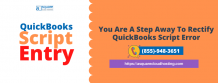 You Are A Step Away To Rectify QuickBooks Script Error