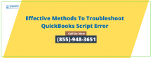 Rectify Quickbooks Script Error Line 0 An Entire Information