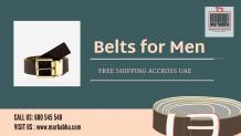 The Ultimate Guide For Choosing Belts