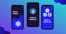 hybrid app development, best and popular framework for develop mobile apps, difference between PWA and hybrid app