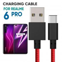 Realme 6 Pro Braided Charger Cable | Mobile Accessories