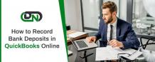 Record bank deposits in QuickBooks