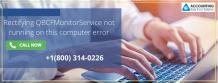 Rectifying QBCFMonitorService not running on this computer error – Web Online Studio