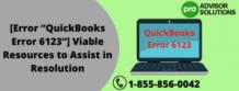 "[Error ""QuickBooks Error 6123""] Viable Resources to Assist in Resolution - ZumaShare.com"