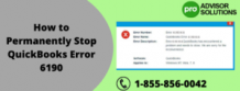 How to Permanently Stop QuickBooks Error 6190 - ZumaShare.com