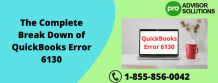 The Complete Break Down of QuickBooks Error 6130 - Wolfensteincenter.Com