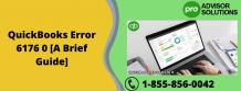 QuickBooks Error 6176 0 [A Brief Guide] | Diary Store