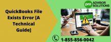 QuickBooks File Exists Error [A Technical Guide] | Diary Store