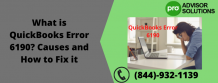 What is QuickBooks Error 6190? Causes and How to Fix it | Diary Store