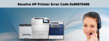 Fix HP Printer Error Code 0x80070490   Call +1-855-626-0142