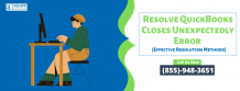 Why QuickBooks Closes Unexpectedly Or Crashes - Try This