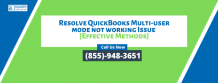 Does QuickBooks Cannot switch to multi-user mode - 8559483651