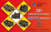 Revit Modeling Services | Revit BIM Families | Revit models Components - Archdraw Outsourcing