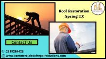 Roof Restoration Spring TX — ImgBB