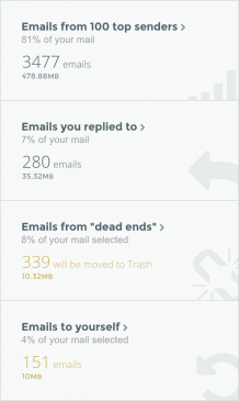 CleanEmail Inbox – Organize and remove emails you don't need