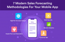 7 modern sales forecasting methodologies for your mobile app