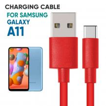Samsung A11 PVC Charger Cable | Mobile Accessories