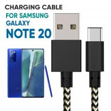 Samsung Note 20 Braided Charging Cable | Mobile Accessories