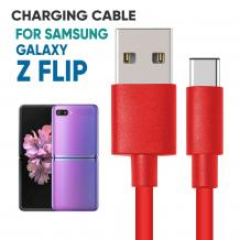 Samsung Z Flip PVC Charging Cable | Mobile Accessories