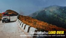 sandakphu land rover tour package from njp