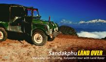 sandakphu tour booking with land rover from njp